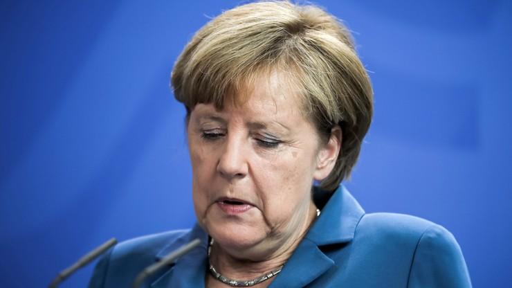"""""""Długie milczenie Merkel"""" - niemieccy komentatorzy po ataku w Monachium"""