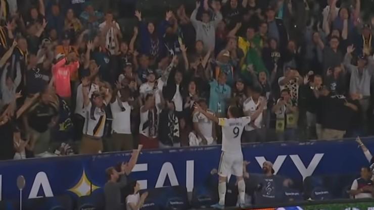 MLS: Hat-trick i rekord Ibrahimovicia. Dziewięć goli w meczu LA Galaxy (WIDEO)