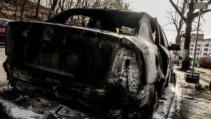 Niemcy. Podpalono samochód pracownika polskiej ambasady w Berlinie