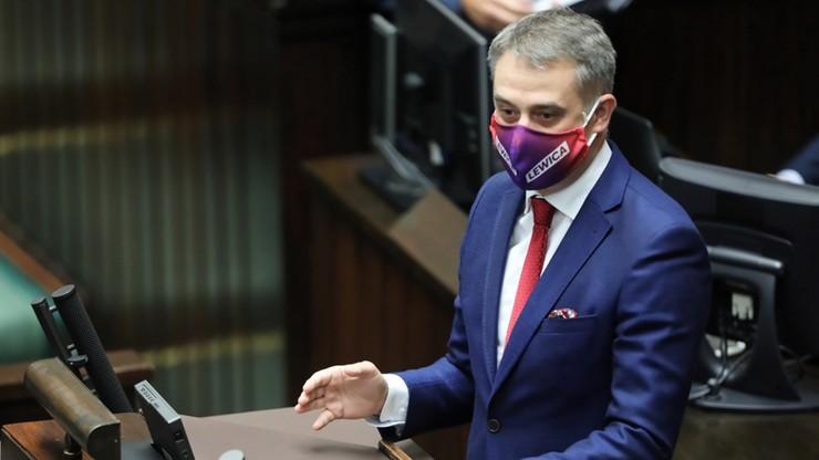 Propozycja Lewicy dot. ustawy o obowiązkowych maseczkach z wsparciem od premiera