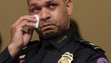 Policjant o ataku na Kapitol: bałem się bardziej niż na misji w Iraku