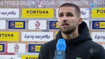 Łukasz Zwoliński: Cieszę się, że trener mi zaufał
