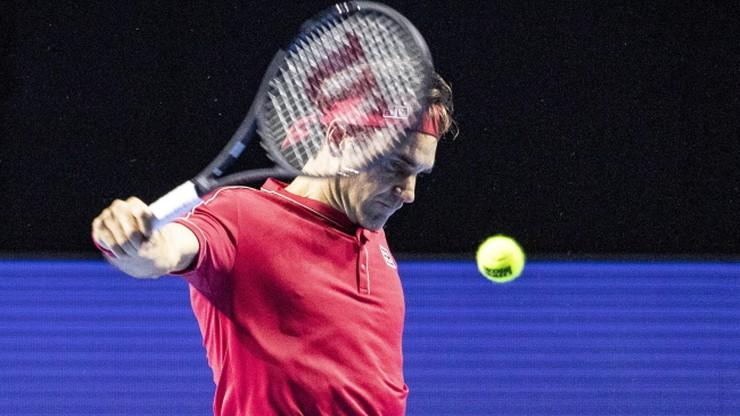 ATP w Bazylei: Awans Federera do finału