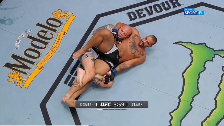 Wyniki gali UFC on Vegas 15: Smith vs Clark