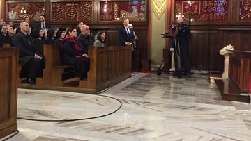 Premier Szydło czytała fragment biblii. Narodowy Dzień Czytania Pisma Świętego
