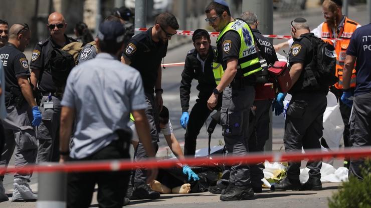 Izrael. Policja zastrzeliła palestyńskiego nożownika w Jerozolimie