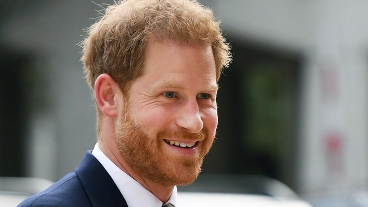"""Książę Harry ma nową pracę. """"Jestem naprawdę podekscytowany"""""""