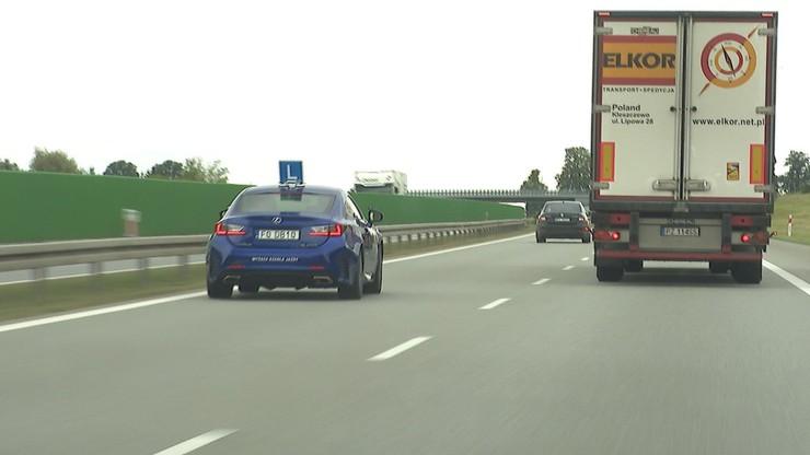 Poznań. Rusza kurs jazdy po autostradzie. Pierwszy taki w Polsce