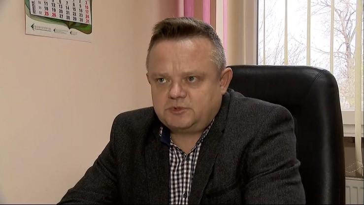 Zdymisjonowany po śmierci Stachowiaka zastępca komendanta dyrektorem w starostwie
