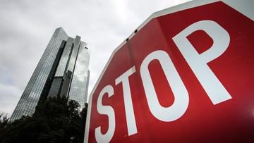 Niemiecki rząd nie pomoże Deutsche Bankowi