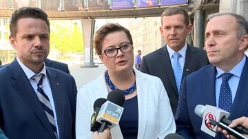 PO i Nowoczesna wzywają UE do trzymania presji na polski rząd ws. SN. Posłowie rozmawiali z Tuskiem