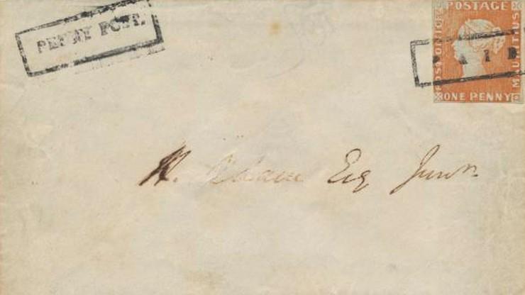 Rekord na aukcji. 8,1 mln euro za... znaczek pocztowy