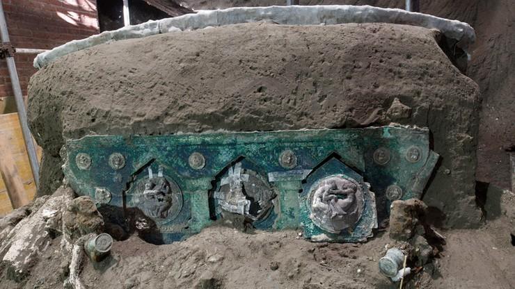 Niezwykłe odkrycie w Pompejach. Znaleziono wóz paradny