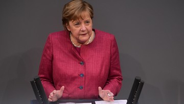 """Dramatyczne słowa Merkel. """"Lekarze wołają o pomoc"""""""