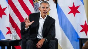 """Obama wyraził poparcie dla Macrona. """"Broni wartości liberalnych"""""""