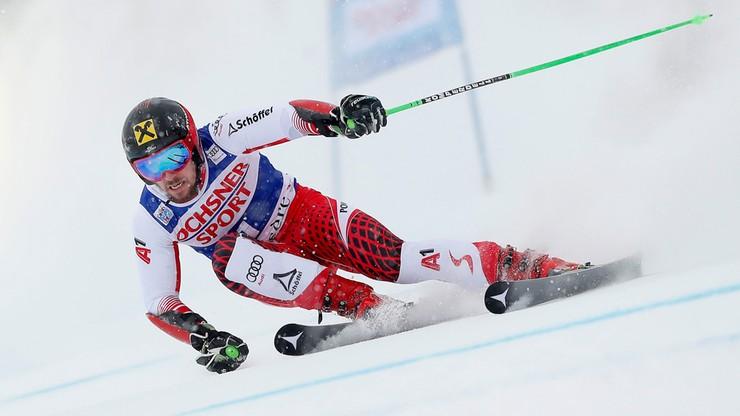 Alpejski PŚ: Sześćdziesiąte zwycięstwo Hirschera