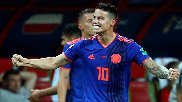 Polska - Kolumbia: Rodriguez piłkarzem meczu