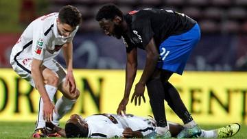 Tragedia podczas meczu rumuńskiej ligi. Nie żyje kameruński piłkarz Patrick Ekeng