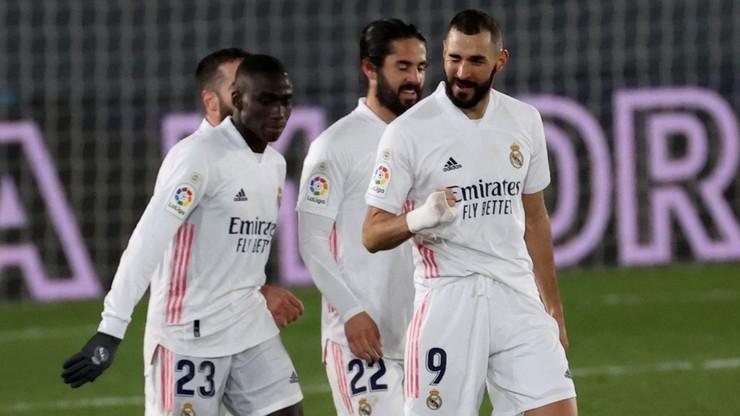 La Liga: Piąte z rzędu zwycięstwo Realu Madryt