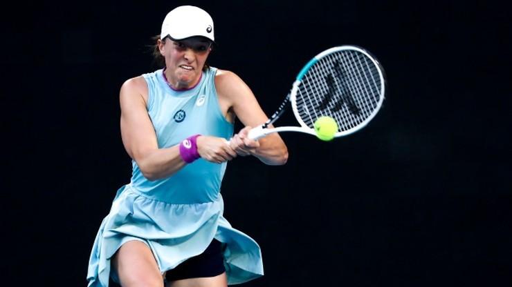 Iga Świątek bez zmian w rankingu WTA