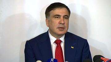 Saakaszwili: odesłanie mnie do Polski było bezprawne; Poroszenko boi się mnie najbardziej