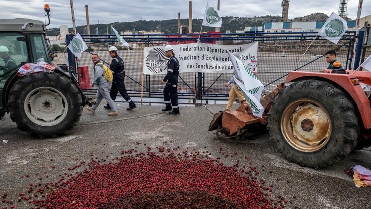 Francja: protesty rolników przeciw importowi oleju palmowego
