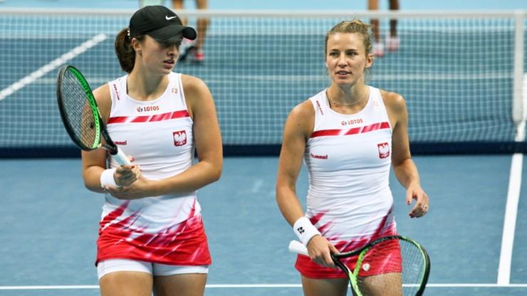 Fed Cup: Polki wygrały z Ukrainkami i zajęły trzecie miejsce