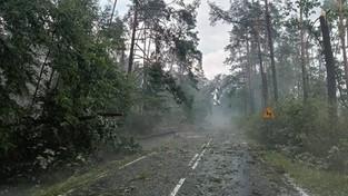 29-07-2021 05:56 Nawałnica w Borach Tucholskich pozostawiła po sobie krajobraz rodem z filmu grozy [ZDJĘCIA]