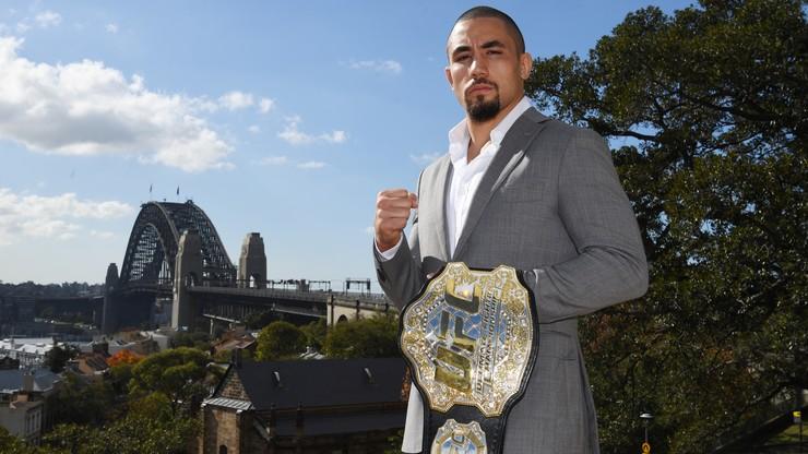UFC 243: Jak Whittaker kończył swoje walki?