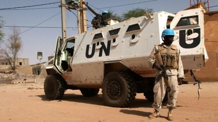 Wybuch miny zabił trzech żołnierzy z misji ONZ