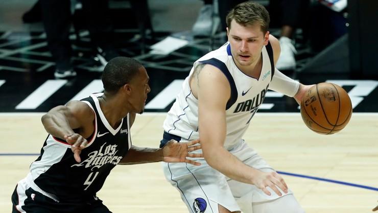 NBA: Remis w rywalizacji Mavericks z Clippers