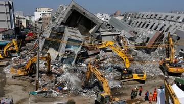 Trzęsienie ziemi na Tajwanie: aresztowany deweloper, który zbudował zawalony wieżowiec. W ścianach puszki po oleju