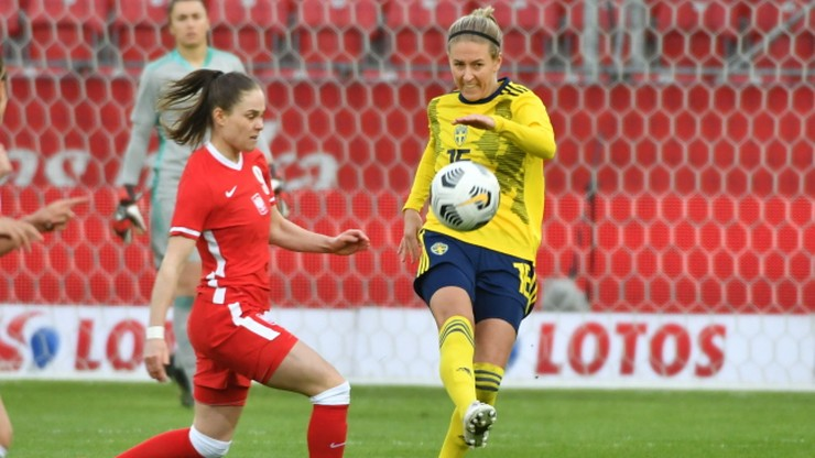 Polki przegrały ze Szwedkami w meczu towarzyskim. Dwa gole Ewy Pajor