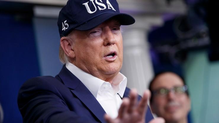 Trump poddał się testowi na koronawirusa