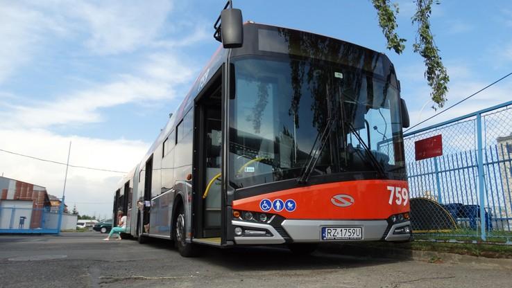 Ukradł autobus z zajezdni i wyjechał na ulice Rzeszowa