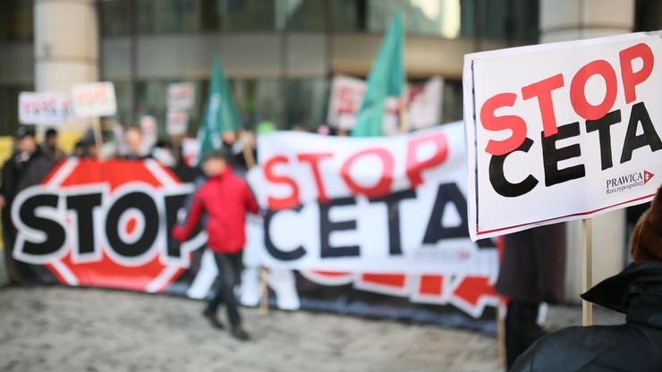 Protest przeciw CETA. Kukiz'15 i Prawica Rzeczypospolitej apelują o głosowanie przeciwko ratyfikacji