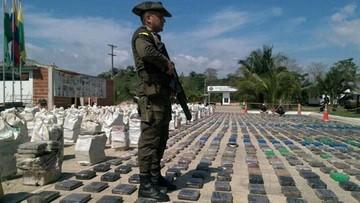 Kolumbia: skonfiskowano rekordowe 8 ton kokainy