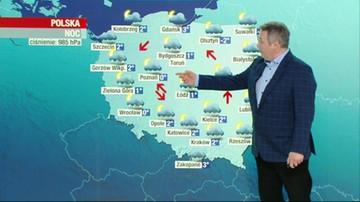 Prognoza pogody - piątek, 22 stycznia - popołudnie