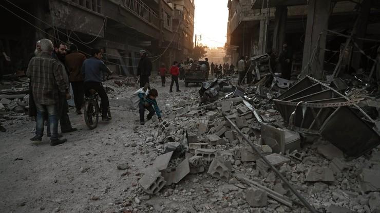 Wojna w Syrii. W nalotach lotnictwa rządowego i rosyjskiego zginęło co najmniej 27 osób
