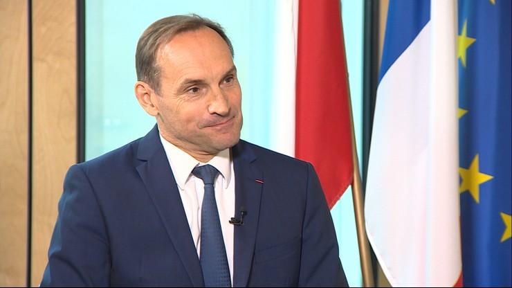 """""""Francuzi, Niemcy i Polacy mają bardzo dużo do zrobienia razem"""". Ambasador Francji dla Polsat News"""