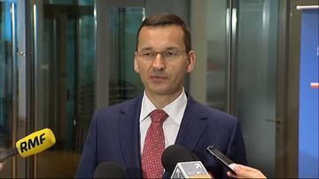 Morawiecki: chcemy podpisać z Chińczykami kilkanaście umów