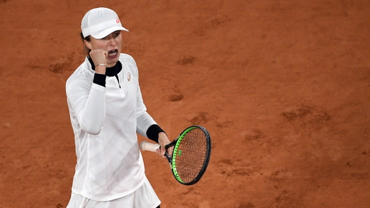Iga Świątek w półfinale French Open