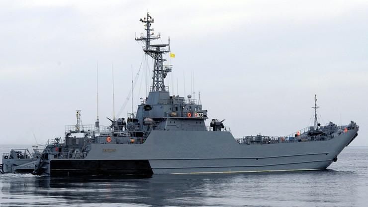 Polski okręt ORP Gniezno uszkodzony podczas manewrów NATO na Bałtyku