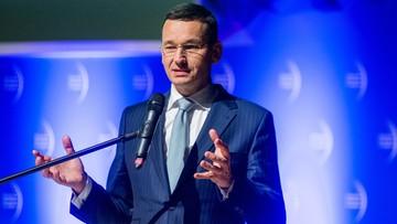 Morawiecki: chcemy nie tylko dogonić, ale i przeskoczyć Zachód