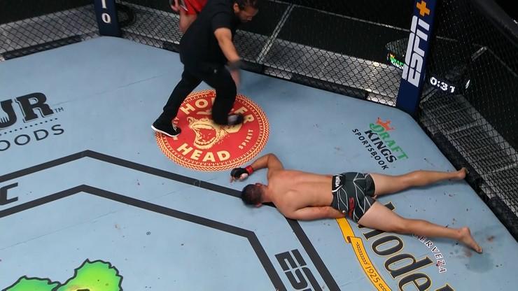UFC: Jiri Prochazka potwornie znokautował Dominicka Reyesa. Czech kolejnym rywalem Błachowicza?