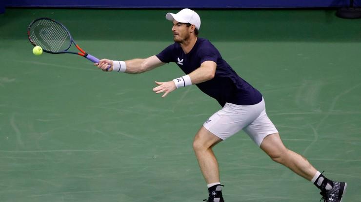 Andy Murray odpadł w drugiej rundzie US Open!