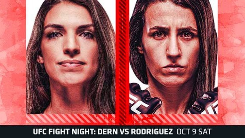 UFC Vegas 39: Mackenzie Dern - Marina Rodriguez. Wyniki gali