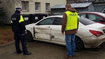 Policjanci ścigali mercedesa. Kierowca uciekał pod prąd autostradą. Jechała z nim zaginiona 14-latka