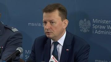 Błaszczak: z Polski wydalono kilka osób podejrzanych o związki z organizacjami terrorystycznymi
