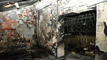 Pożar w grobowcu cadyka Elimelecha w Leżajsku. Wstępnie wykluczono podpalenie